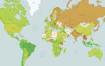 Le mappe del referendum costituzionale 2016