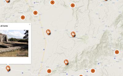 La mappa delle chiese campestri in Sardegna